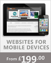 Mobile Websires from 199.00