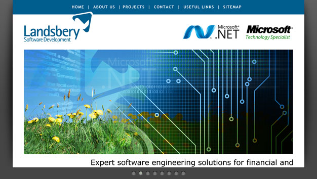Link to Landsbery Software Development website