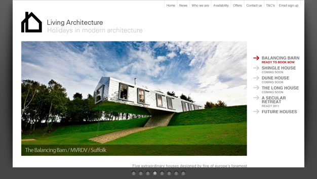 Link to Living Architecture website